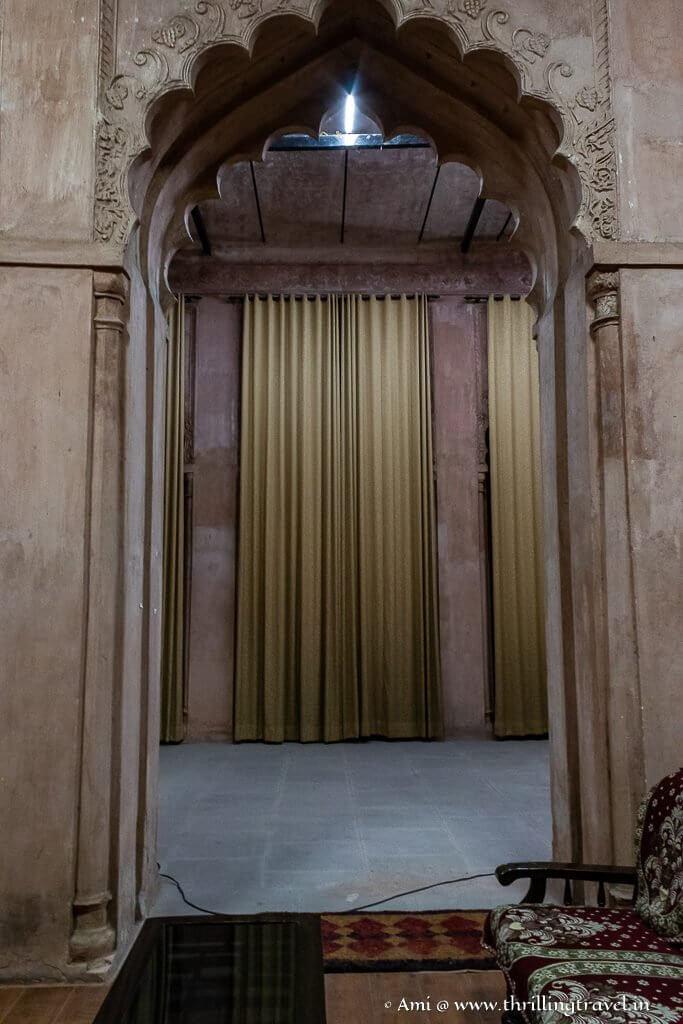 Inside General Wali Kothi