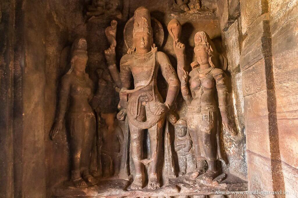Harihara in Badami Caves