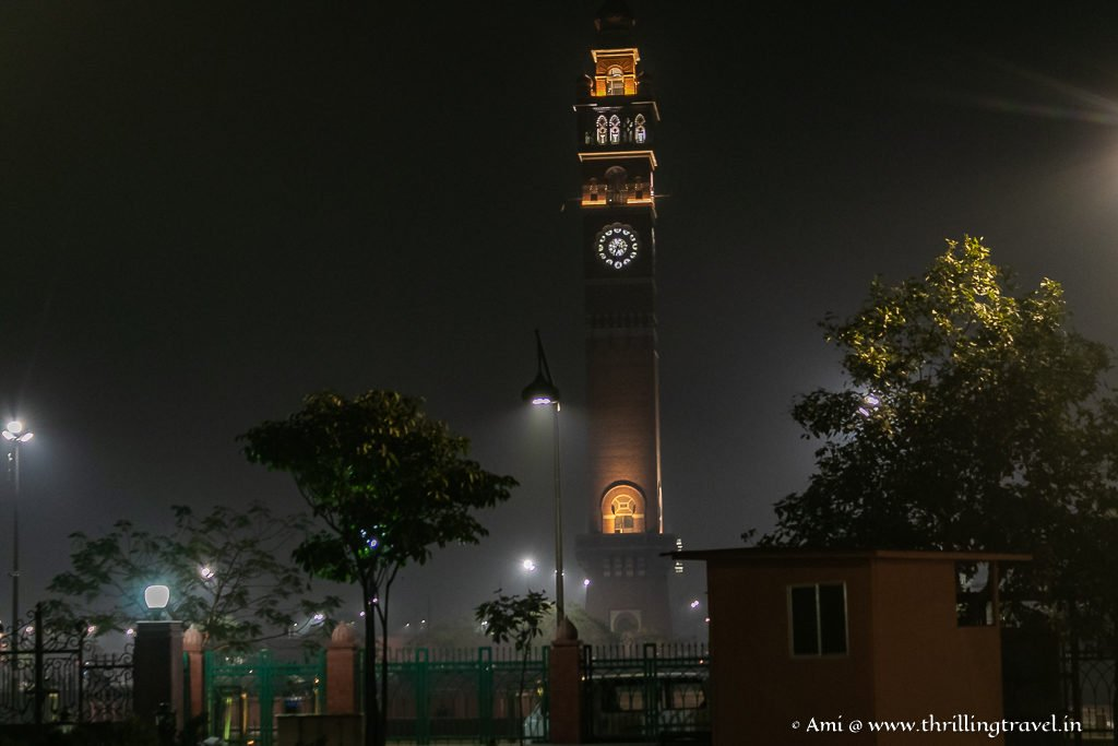 Places to see in Lucknow - Hussainabad Clock Tower