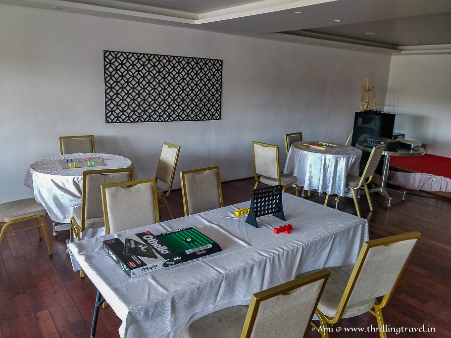 Indoor Games at GRT Hotels
