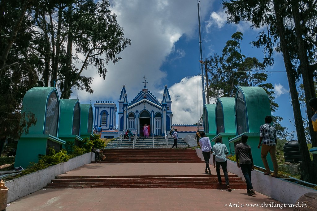 La Sallete Church in Kodaikanal