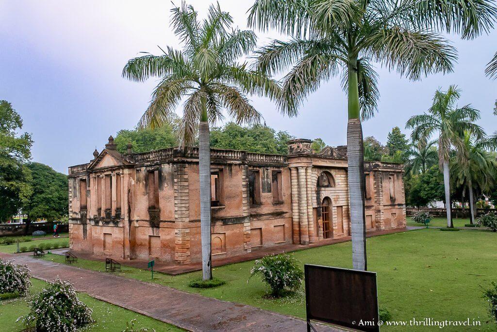 New Palace of Dilkhusha Kothi