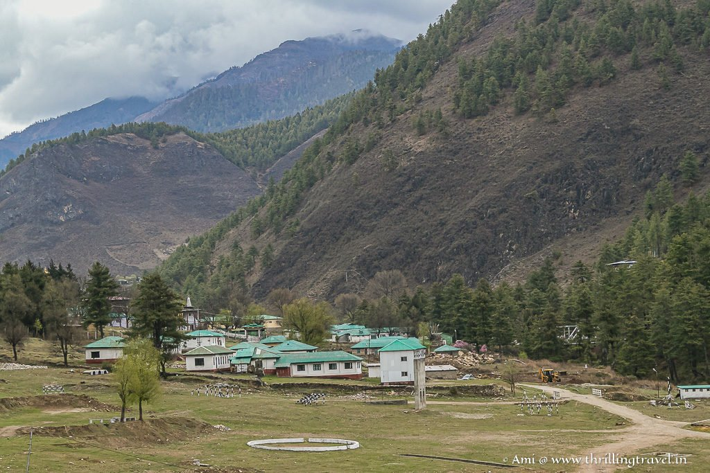 Army camps in Haa Valley
