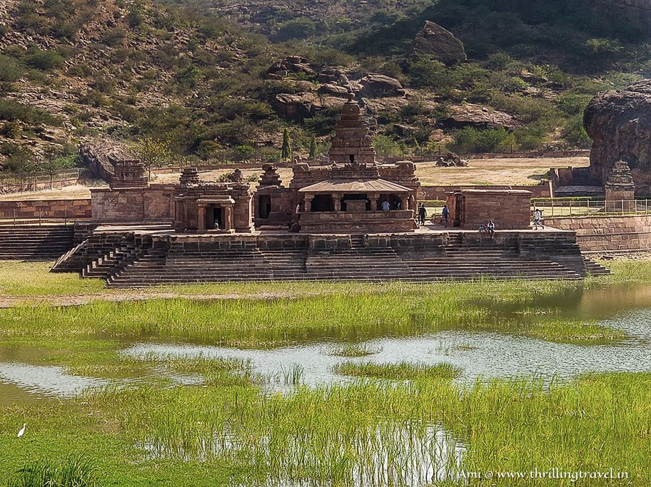 Bhutanatha Temple - one of the things to see in Badami