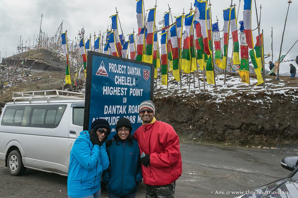 Our memory of Chele La Pass