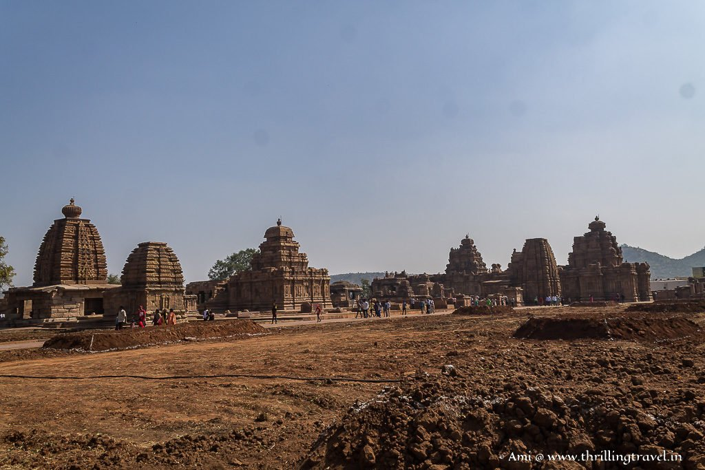 The Group of Monuments at Pattadakal - the land of Red Soil