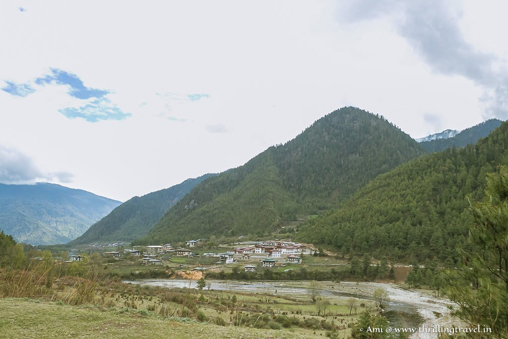 Haa Chu River flowing through the valley