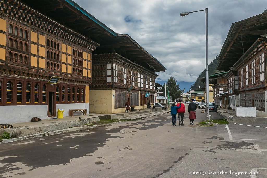 Haa Town in Bhutan