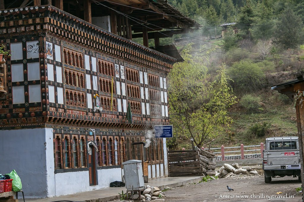 Charming buildings in Haa Valley