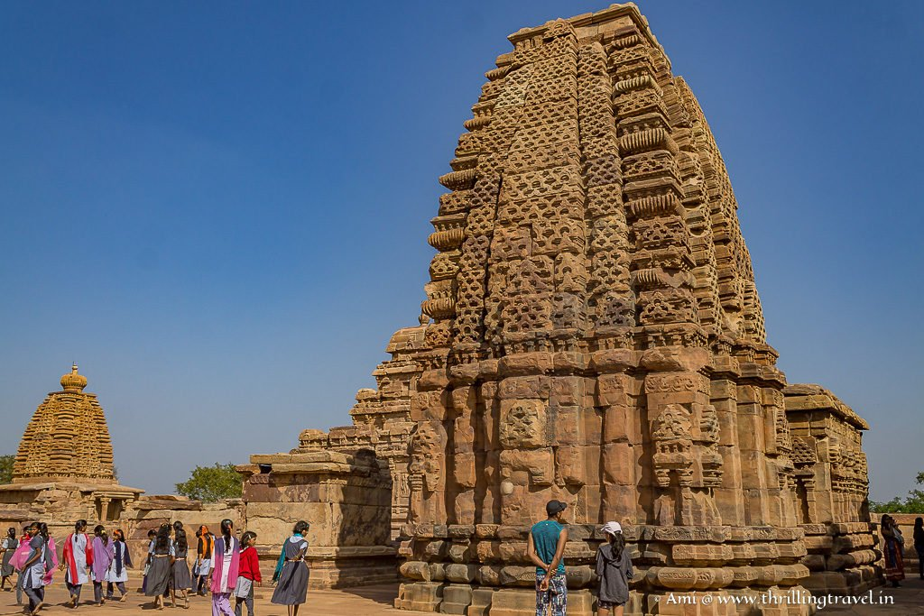 The Intricate design of Kashivishwanatha temple of Pattadakal