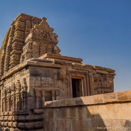 Kashi Vishwanath Temple - A Nagara styled temple in the group of monuments at Pattadakal
