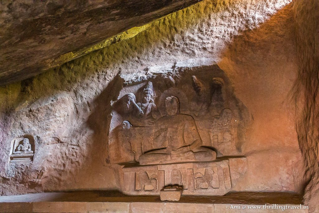 Kostraya Cave - the fifth cave of the Badami Cave temples