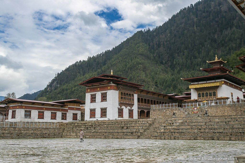 Lhakhang Karpo - one of the Buddhist temples in Haa Valley