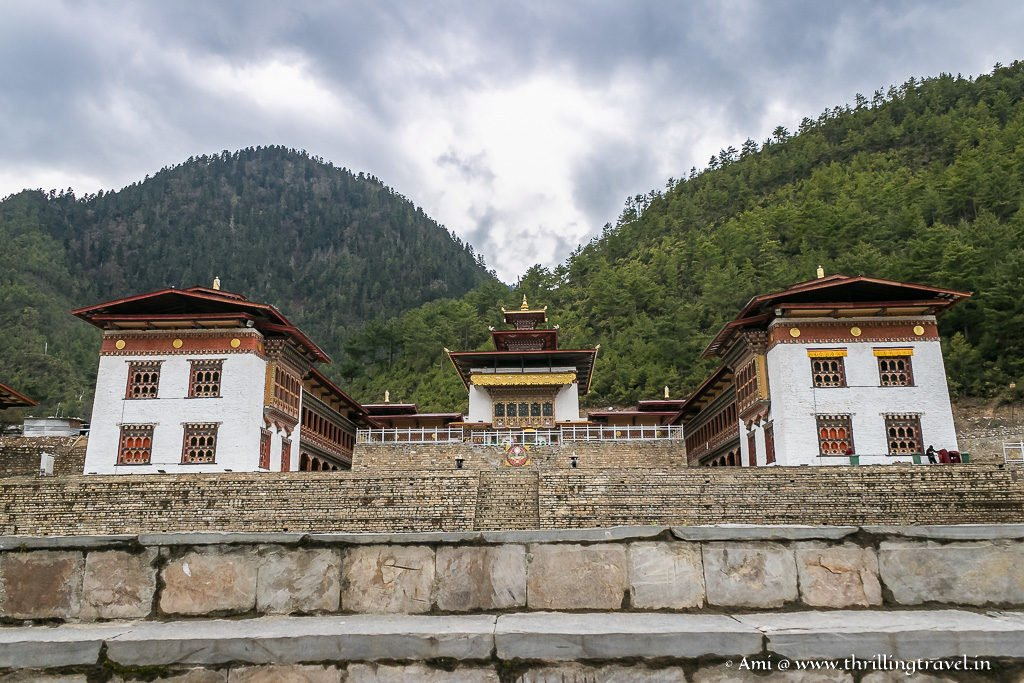 Lhakhang Karpo -the white temple of Haa Valley