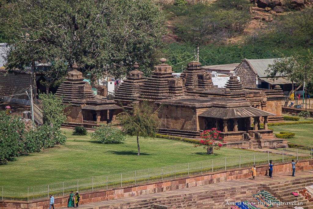 Mallikarjuna Group - the 2nd of the Bhutanatha temples