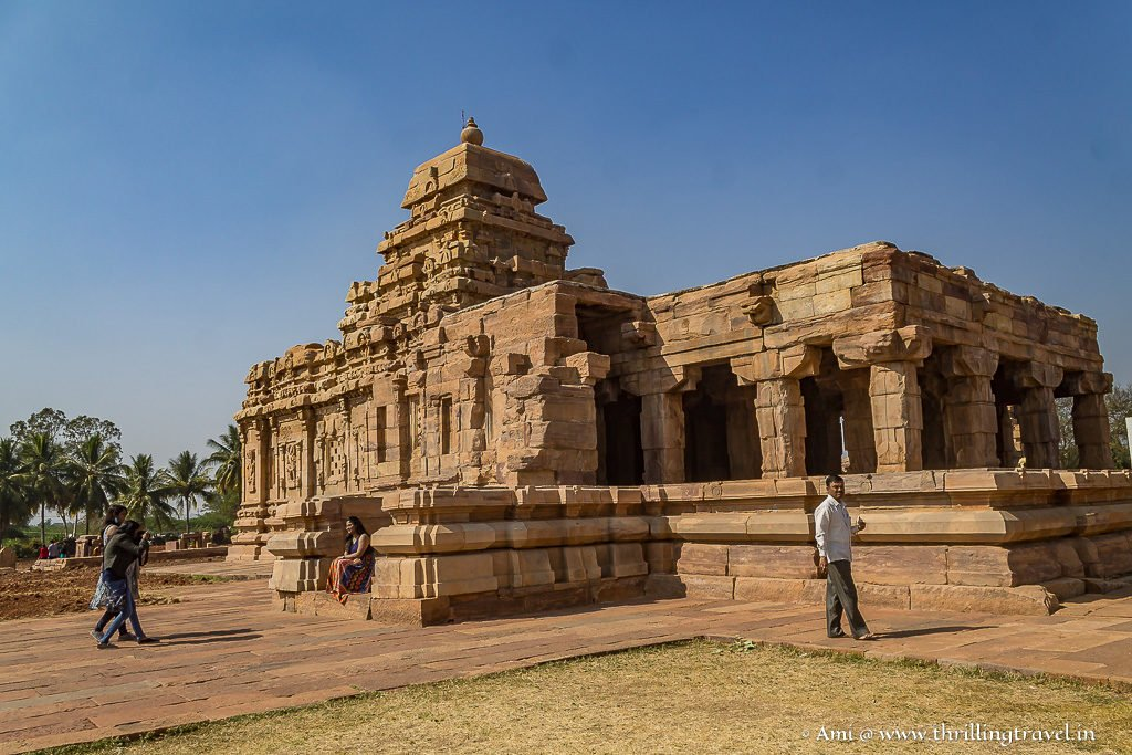 Sangameshvara Temple in Pattadakal
