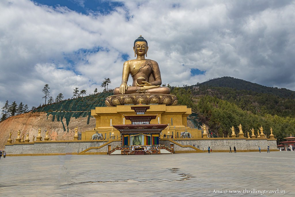 Buddha Dordenma - the famous Buddha Point in Thimphu
