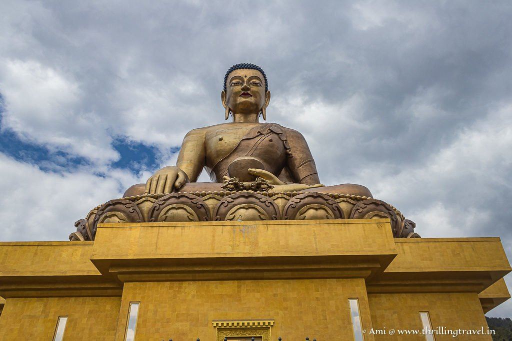 Every angle allows you to see a unique perspective of the Buddha
