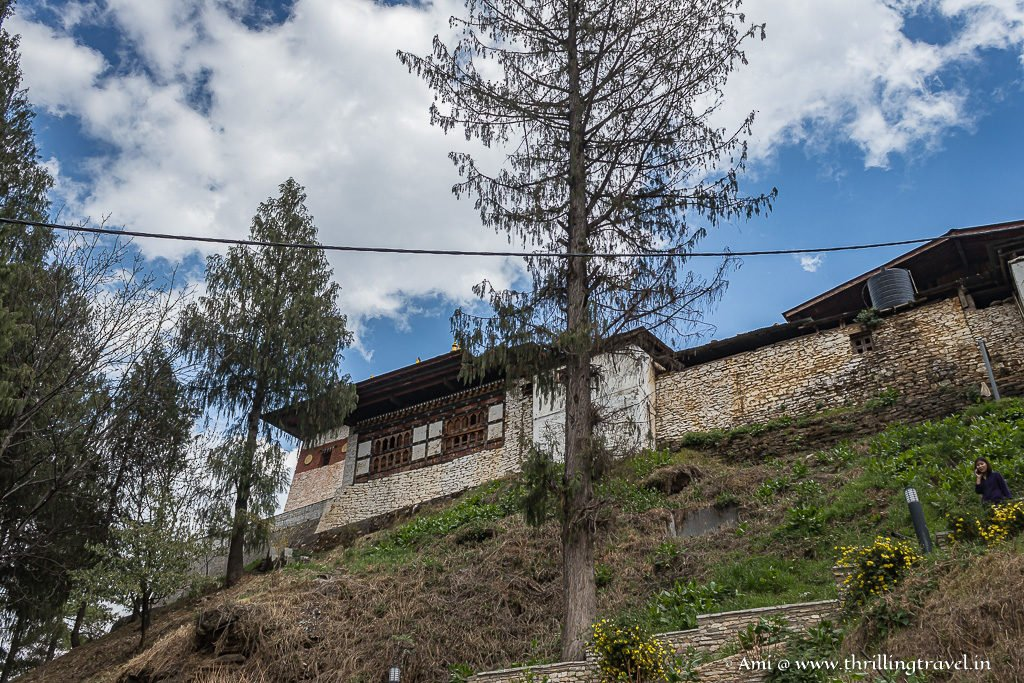 Changangkha Lhakhang as we ascended