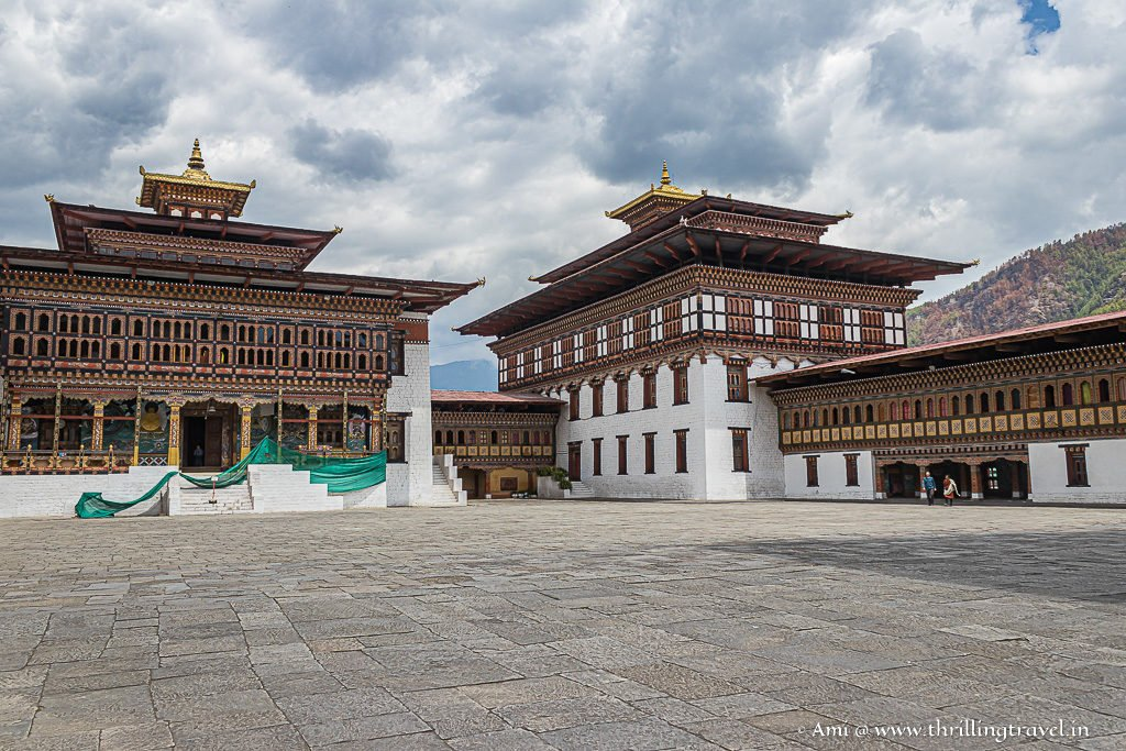The Monastic Dorchay at Thimphu Dzong
