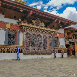 Changangkha Temple in Thimphu, Bhutan
