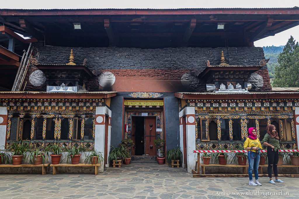 Meditation hall in Changangkha Lhakhang