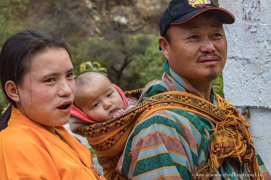 The lucky Buddhist devotees who are allowed in Tachog Lhakhang