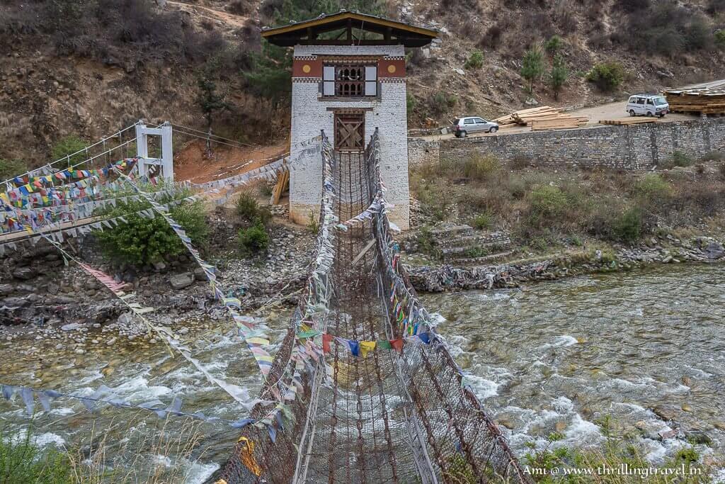 The ancient Iron Bridge