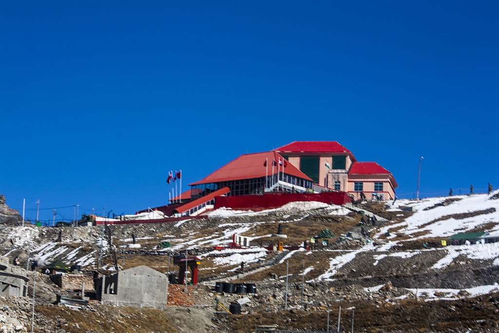 Nathu La Pass along the Indo-China Border in Sikkim