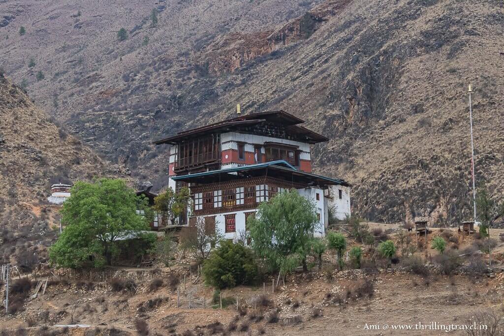 Tachog Lhakhang in Paro