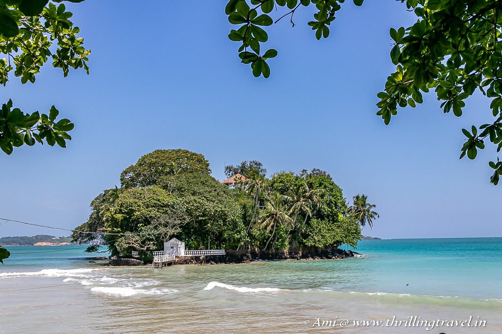 Taprobane Island - on the way to Galle from Mirissa