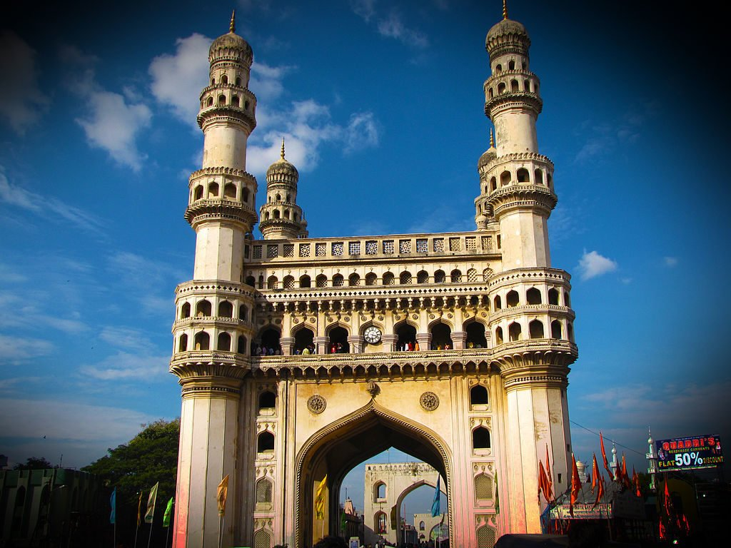 Charminar and its attractions around form one of the key tourist clusters of Hyderabad