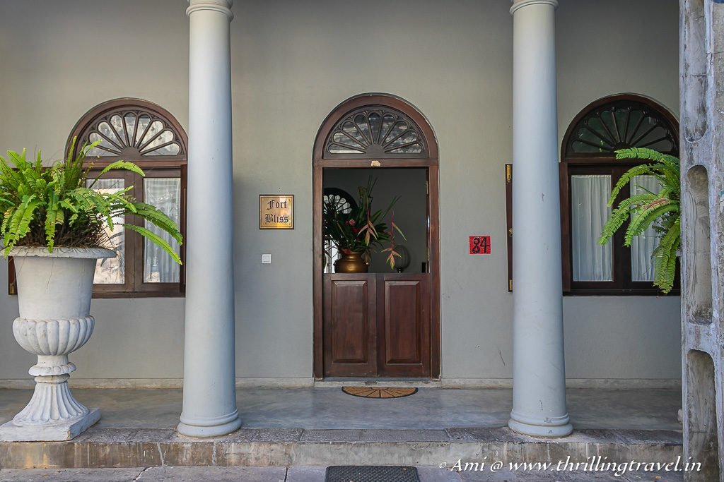 Fort Bliss- One of the BnB options in Fort Galle
