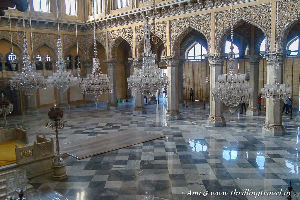 Chowmahalla Palace - one of the key attractions near Charminar