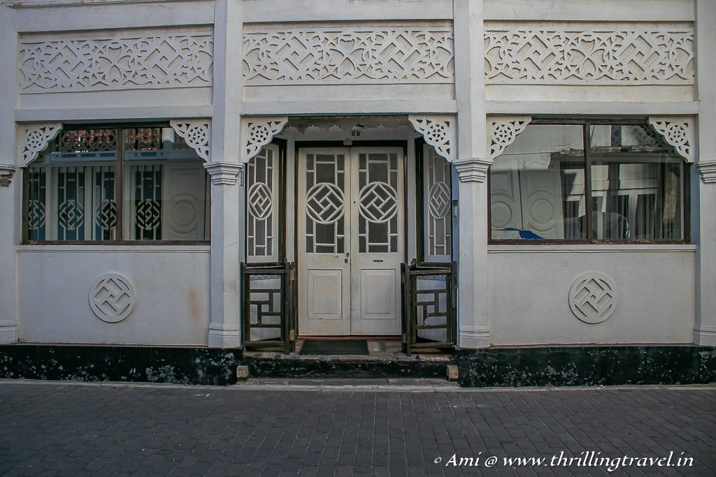 The little European touch to the homes of Galle Fort