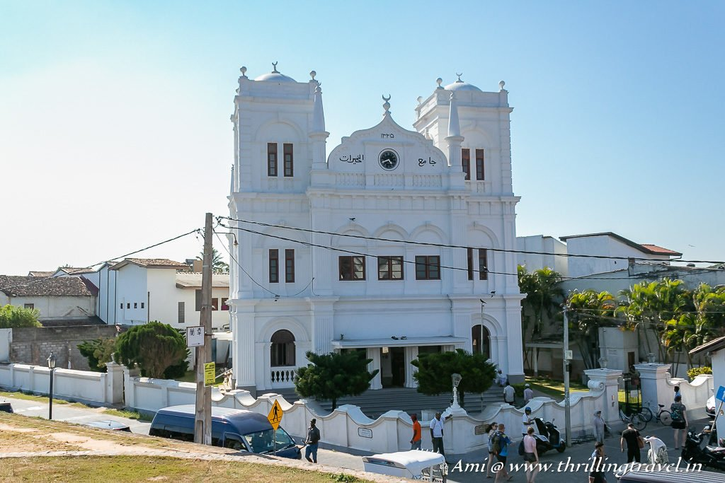 Meeran Jumma Masjid in Galle, Sri Lanka