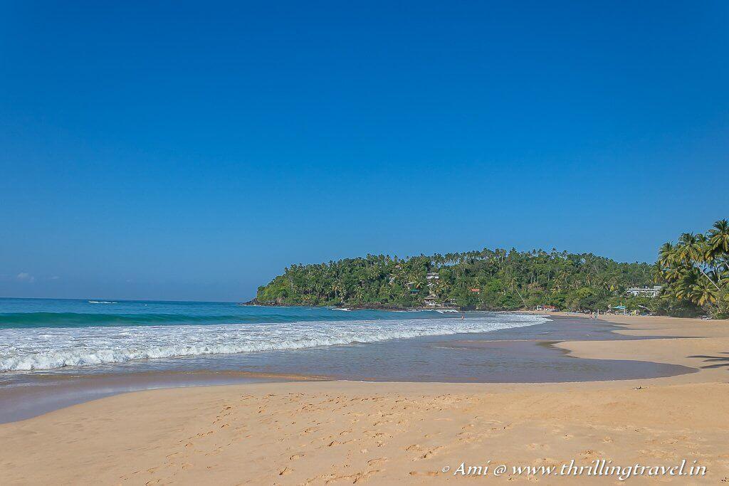Mirissa - a beach town in Sri Lanka