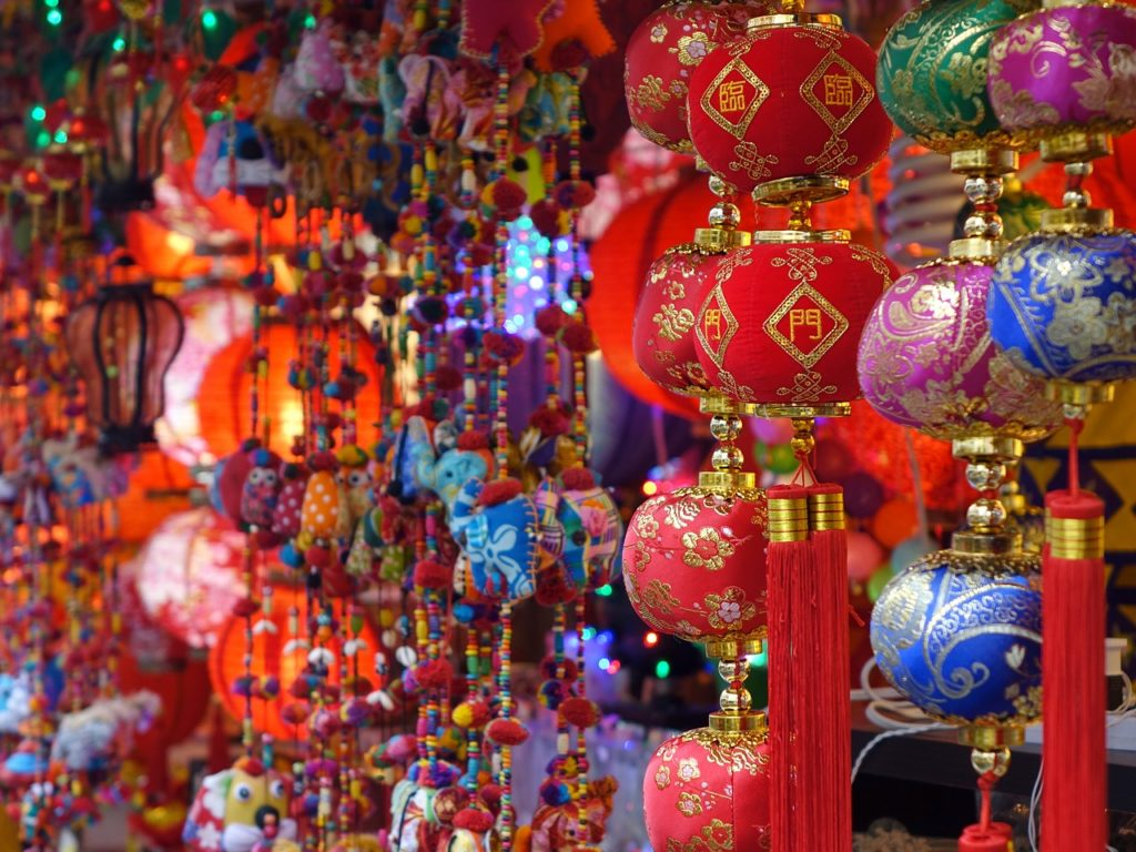 Visiting China Town - one of the things to do in Singapore