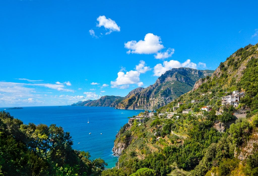 One of the must-see things in Sorrento - the Amalfi Coastline