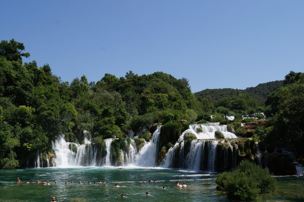Krka National Park - one of the key day trips from Split