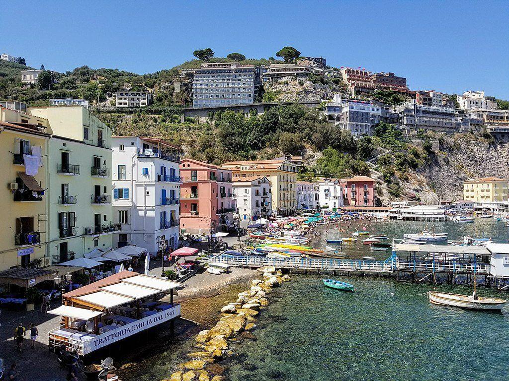 The fishing village of Marina Grande