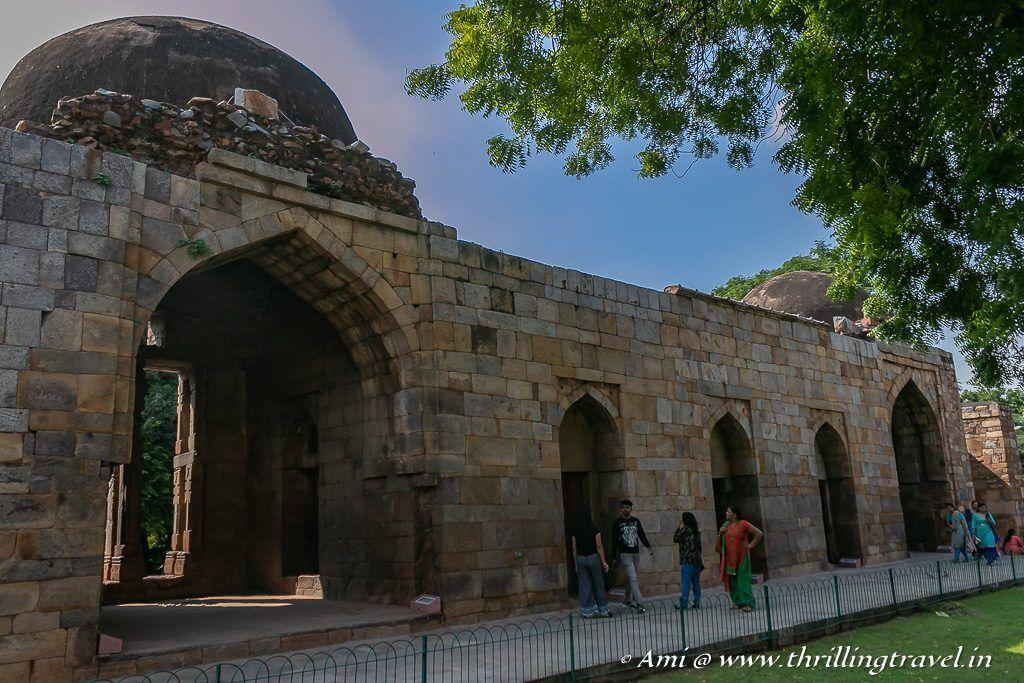 The Madrasa built by Khilji
