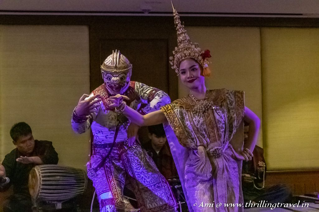 Lan Na Ramayana dance at Khantoke restaurant - one of the key things to do in Chiang Mai