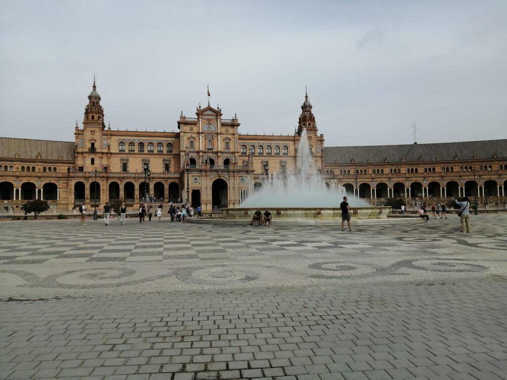 Plaza de Espana - an important Seville attraction