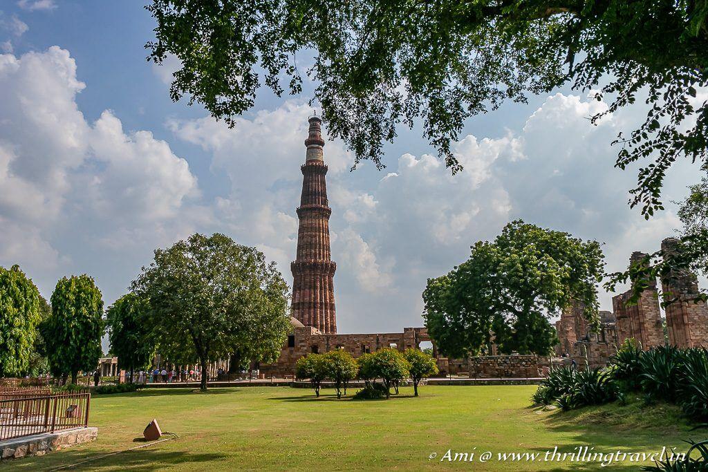 Qutub Minar - one of the key attractions of Delhi