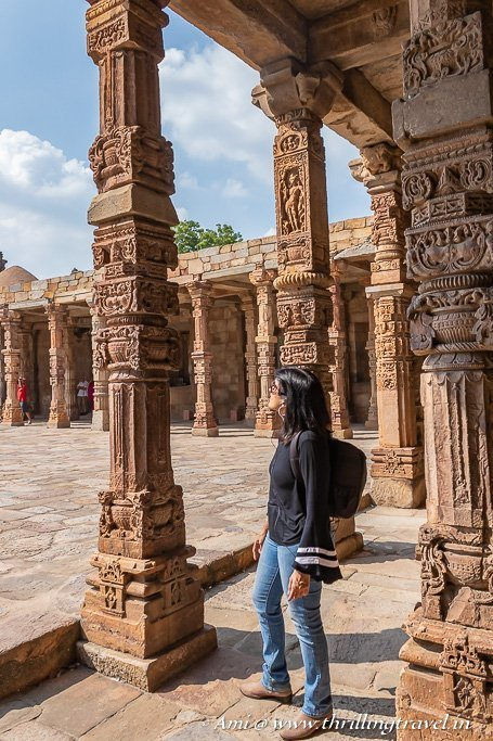 Exploring the Qutub Complex handsfree with the Tourio App