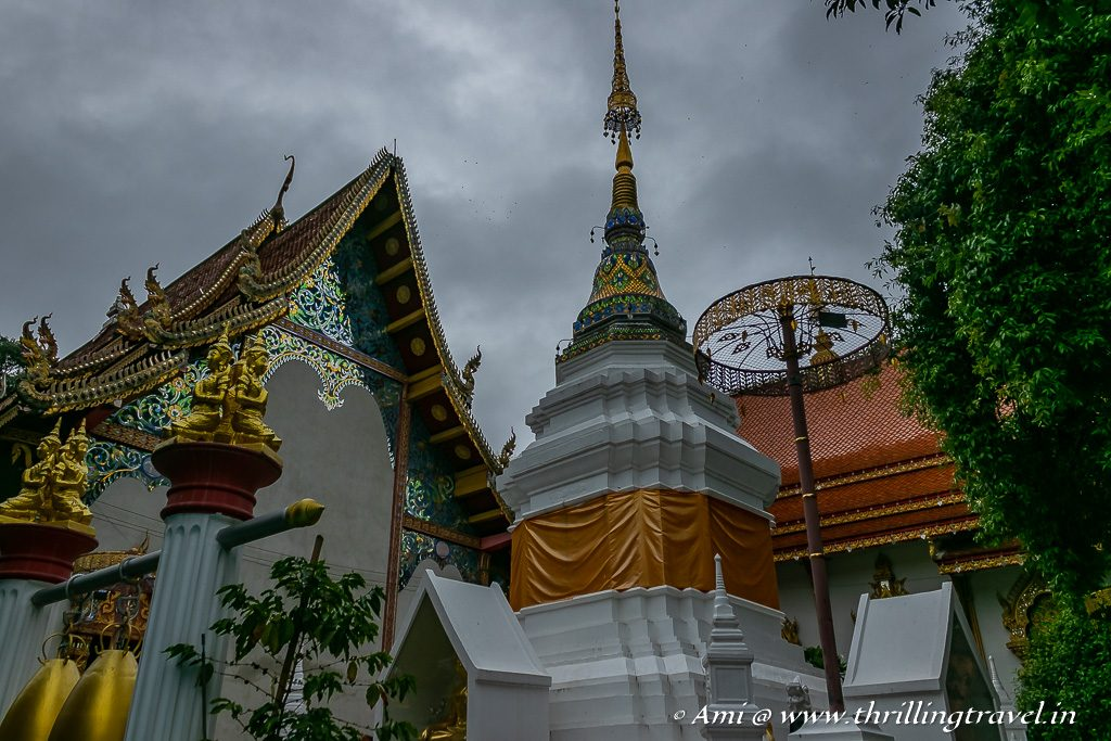 Wat Faham - one of the smaller Chiang Mai Temples