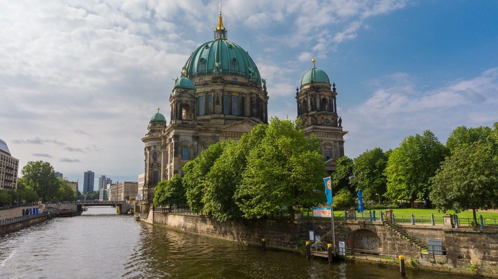 Berlin - by the river Spree