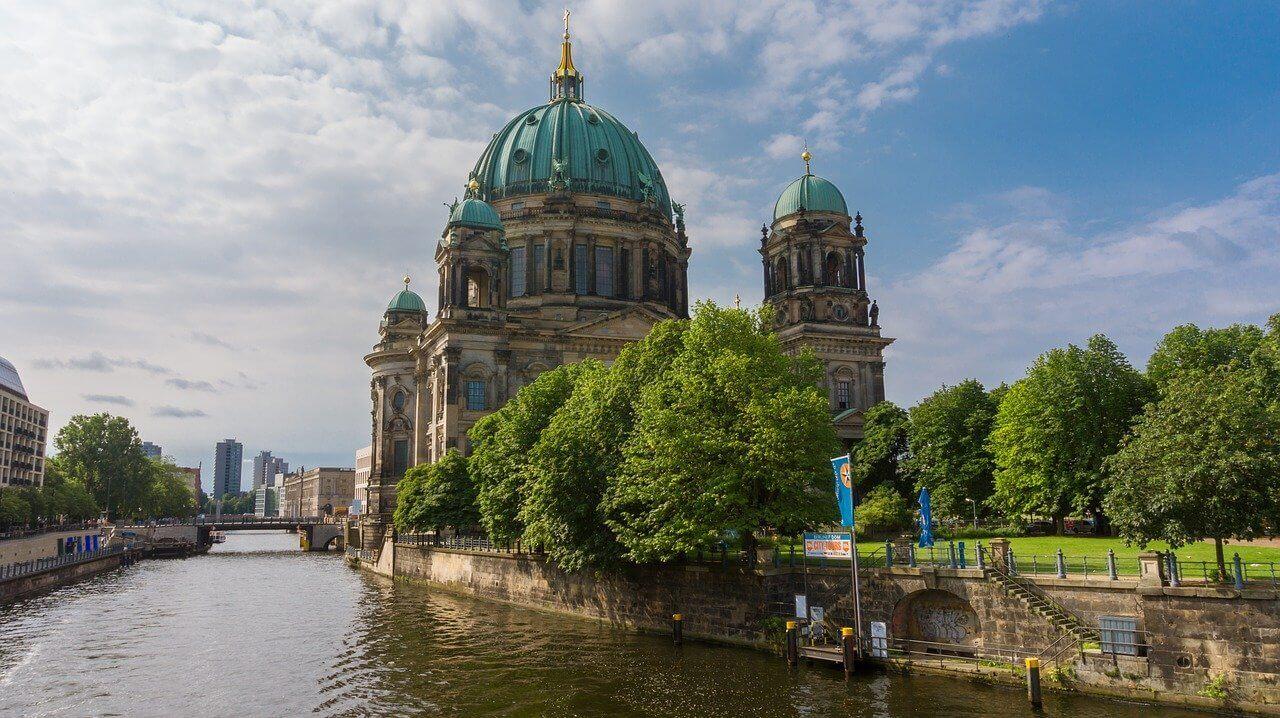 Berlin - by the river Spree