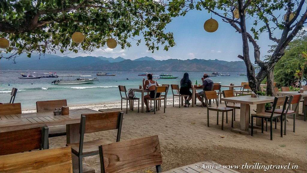 Cafes, Movies and fun on Gili Islands